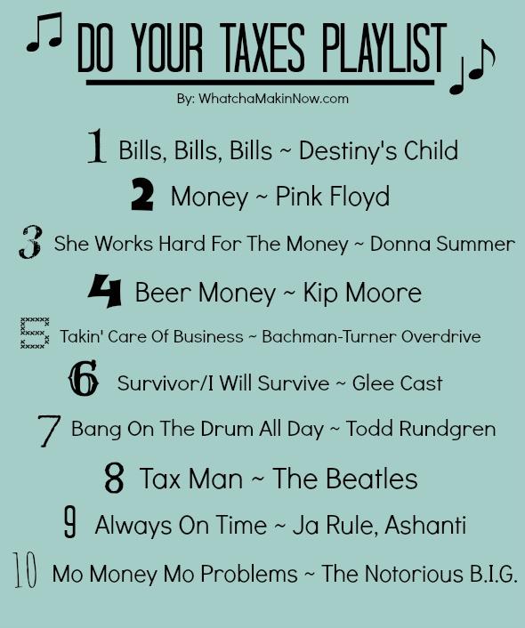 taxes playlist